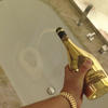 Disposing of a bottle of Armand de Brignac is no biggie