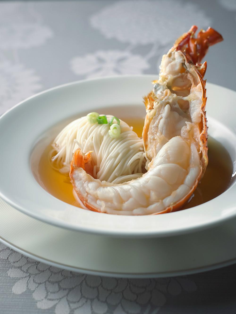 Lobster Mee Sua Soup - Lok-ing Mighty Fine