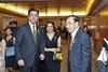 Mr and Mrs Manraj Sekhon and Phillip Tan