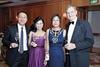 Andy Sim and Ooi Huey Tyng with Linda and Michael Gray
