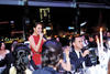 Coco Lee singing her heart out during the gala dinner