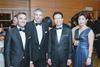 Cedric Stademann, Alex Kuriz, Cheng Heng Chew and Naomi Mizumura