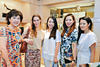 Ow Pui Yee, Valentien Bourrier, Carmen Ow, Stephanie Lee and Elaine Kim