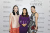 Aniela Rahardja and Jade Kua with Eva Longoria