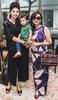 Karen Ong-Tan and daughter Kara with Renee Tan