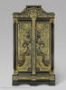 A cabinet by André-Charles Boulle made between 1700 and 1720