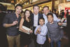 Adrian Ong, Simone Khoo, Jaacky See with Ken Khoo and his sons