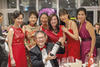Alexander Chee with Leong Sow Fung, Rennee Chang, Rachel Chen, Ooi Huey Tyng, Mrs Paul Sandoshan and Symonne Lim