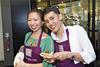 Kelly Tan and Tharin Tan