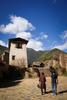 Paro - At the ruins of Drukgyel dzong