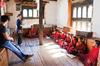 Punakha - Teaching at the monastery