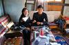 Punakha to Gangtey - We stop for lunch at the home of Yaarob's aunt