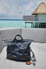Prusse Intrecciato Light Calf Vachette Duffel from Bottega Veneta
