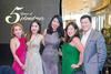 Bibi Chia, Jilly Wong, Laura Lim, Rachael Tang and Tay Yu-Jin