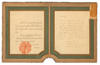 The Siam Royal Warrant granted to Cartier