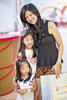 Lynette Goh with daughters Sarah and Amelia