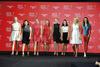 Jessica Korda, Inbee Park, Suzann Pettersen, Lydia Ko, Paula Creamer, Chella Choi, Anna Nordqvist and Michelle Wie