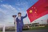 Winning mare Parranda's principal owner Li Xu Dong