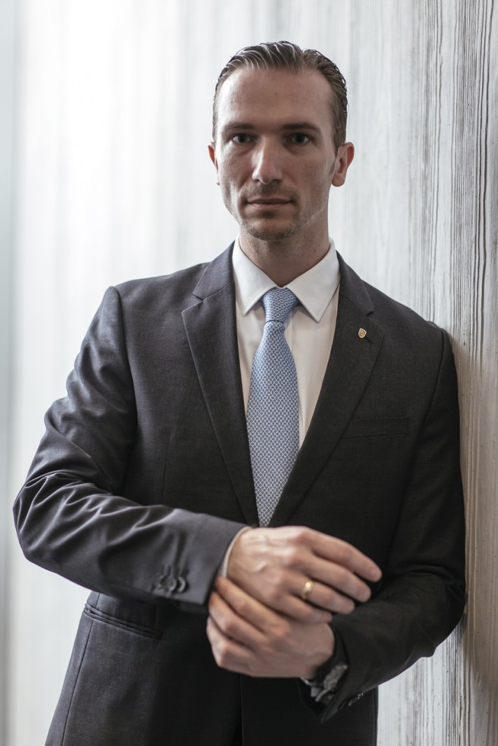 Martin Limpert Managing Director Of Porsche Asia Pacific