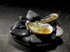 Anti:dote bar's raw oysters with wasabi cream and passion fruit jelly