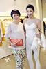 Frances Low and Tatiana Teh