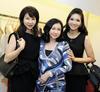 Violet Yeo, Renee Tan and Karen Ong-Tan