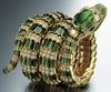 A Bvlgari Serpenti bracelet from the 1960s