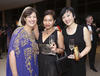 Huma Qureshi, Ane Bakri and Genevieve Jiang