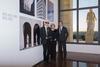 Karl Lagerfeld, Silvia Venturini Fendi and Pietro Beccari