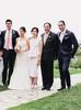 The bride and groom with Ivy Chiam, Chiam Chon Hing and Desmond Chiam