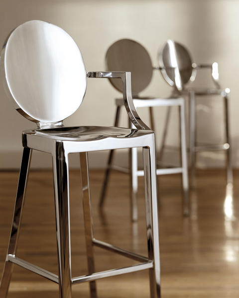 Starck's Kong counter stool for Emeco