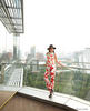 Kim Chongsatitwatana; Top and trousers by Fendi, Hat by Emilio Pucci, Sandals by Jimmy Choo; Photography by Vatcharasith Wichyanrat
