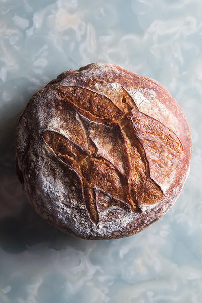 Chef Daniel Calvert's homemade bread. Photo courtesy of Blacksheep Restaurants
