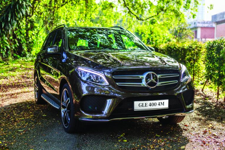The Mercedes-Benz GLE