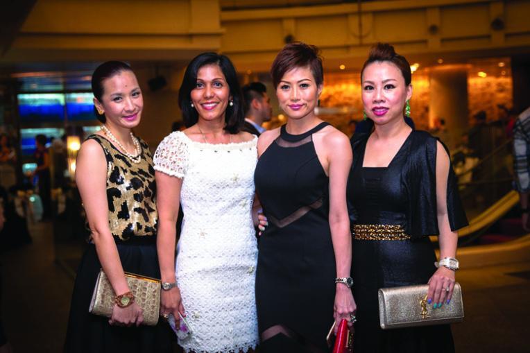 Janni Yang, Saras Maniam, Aemy Wong & Dato' Jennifer Ong