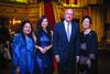 Saroj Dhir, Mink Ong, Francois Renard & Puan Sri Khir Johari