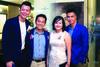 Steven Wee, Jeff Liow, Jenny Liow & Steven Chan