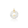 TOUS' Mama  Love 18-carat Yellow Gold & Mother-of-Pearl Pendant