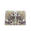"Bulgari's Limited Edition ""Bejewelled"" Serpenti Forever bag in Python Skin"