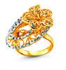 Anggun Bunga Raya Ring by Poh Kong