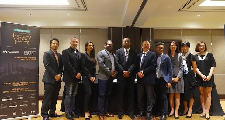The organisers, judges and sponsors of the South East Asia Property Awards Malaysia 2016