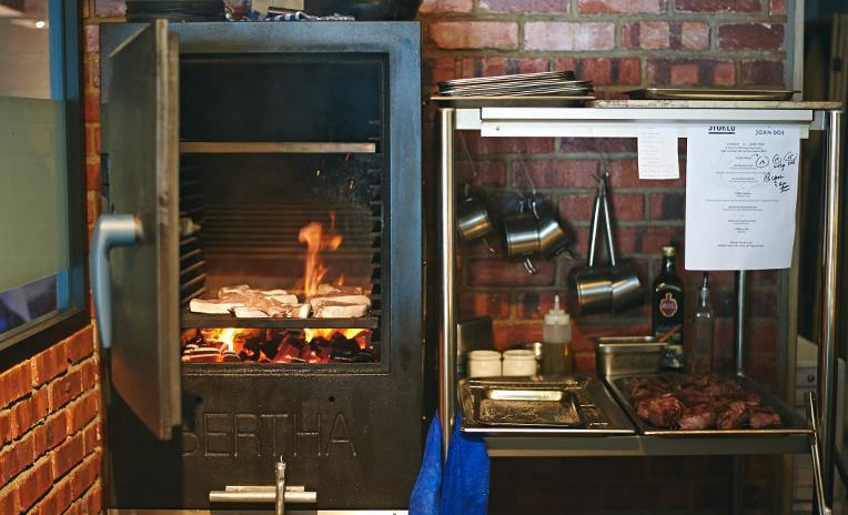 Stoked's Bertha oven
