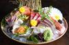 Sashimi Miyagi ($68++) from Ishinomaki Grill & Sake Bar (#B1-02), which features a grand assortment of eight different kinds of premium sashimi.