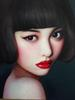 Beijing Girl by Zhang Xiangming