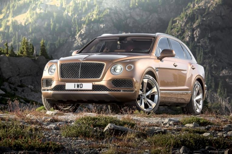 Bentley launches the Bentayga