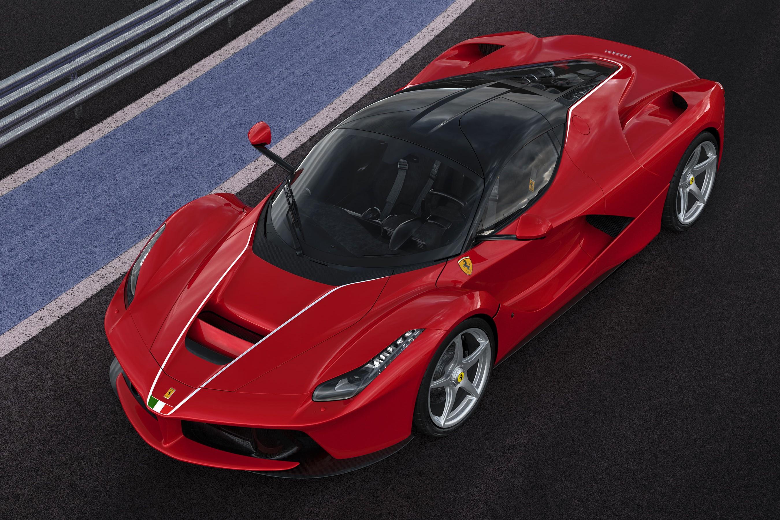 Buy a Ferrari for charity