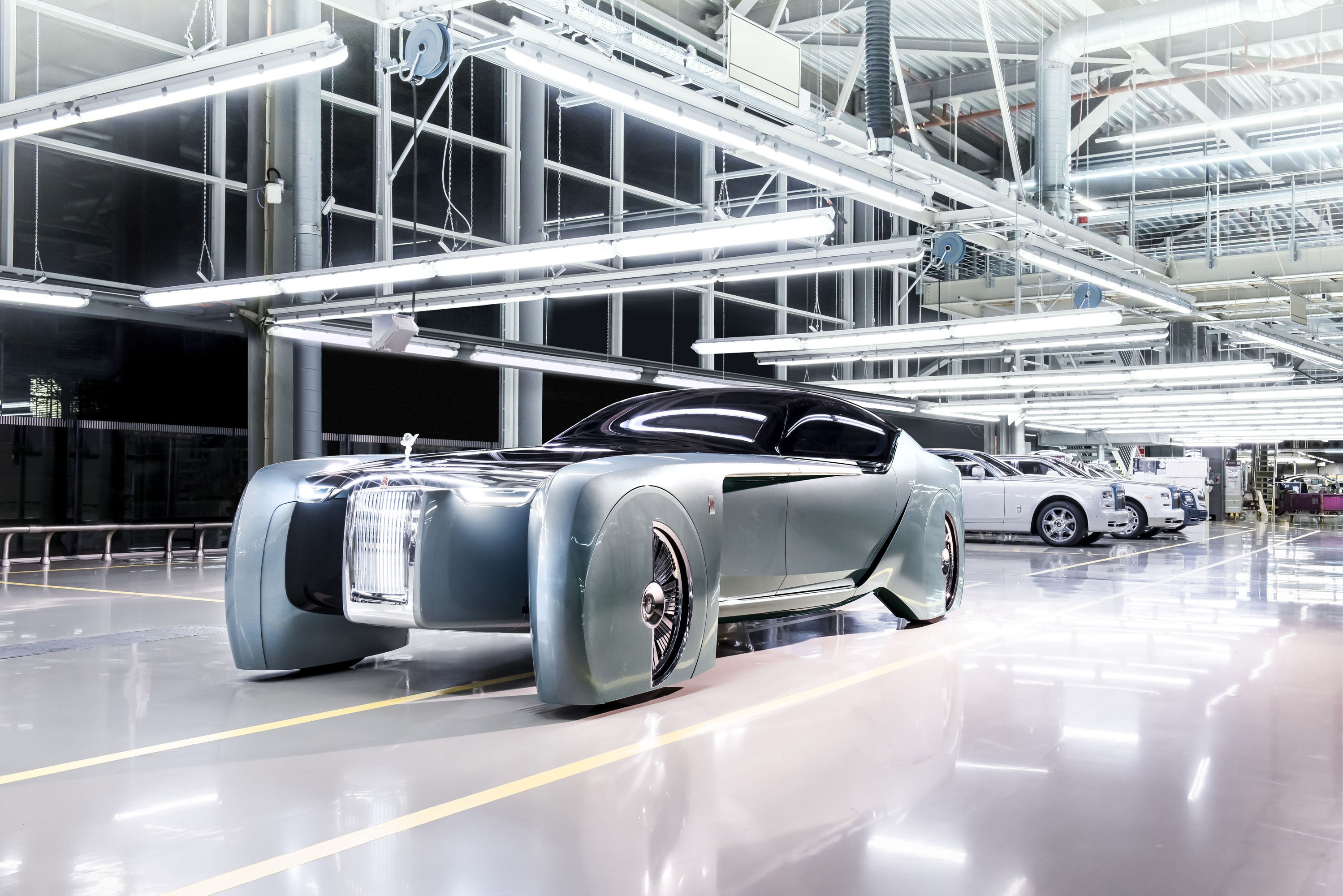 Rolls-Royce unveils its vision of future cars