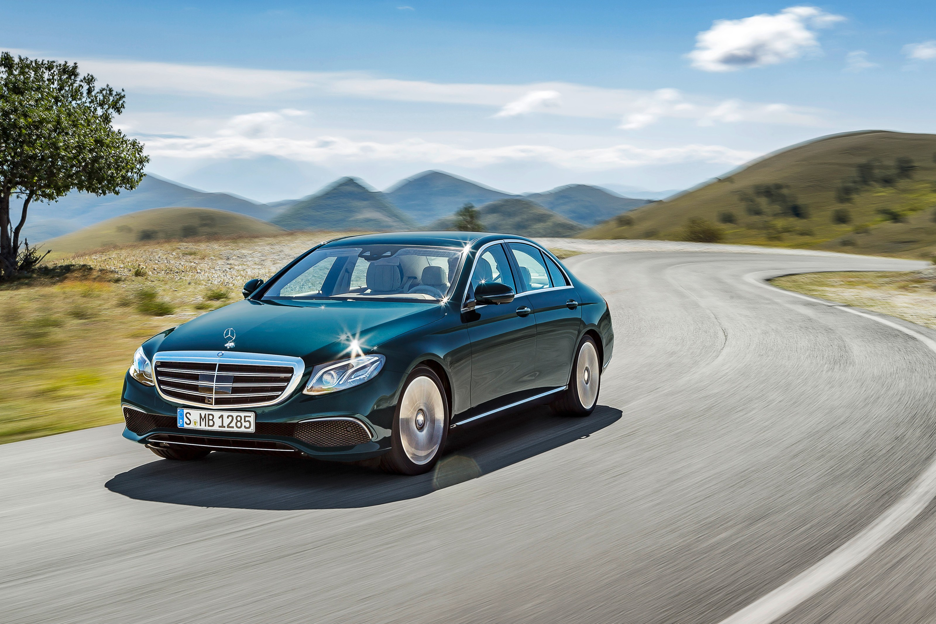 Say hello to the new E-Class