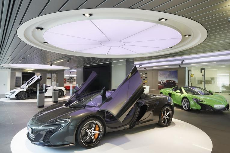 Three things to know about McLaren's new showroom