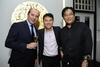 Alexis De Laporte, Robin Wong and Gavin Foo